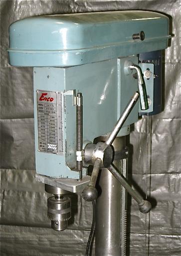 17 Enco Drill Press Industrial Machinery Machine