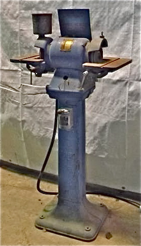 Bench Amp Pedestal Grinder Buffer Industrial Machinery