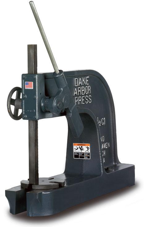 5 Ton Ratchet Leverage Dake Arbor Press Industrial