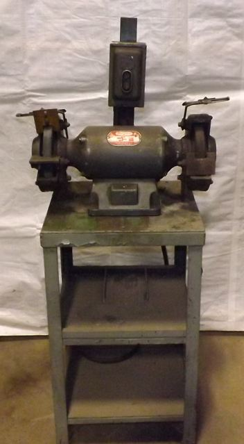 Bench Pedestal Grinder Buffer Industrial Machinery Machine Tool Sales And Service Since 1936