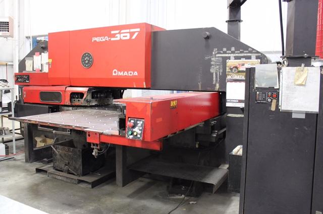 33 TON AMADA     CNC TURRET PUNCH : Industrial Machinery