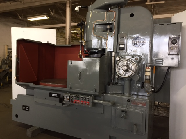 "42"" BLANCHARD ... ROTARY SURFACE GRINDER - Click Image to Close"