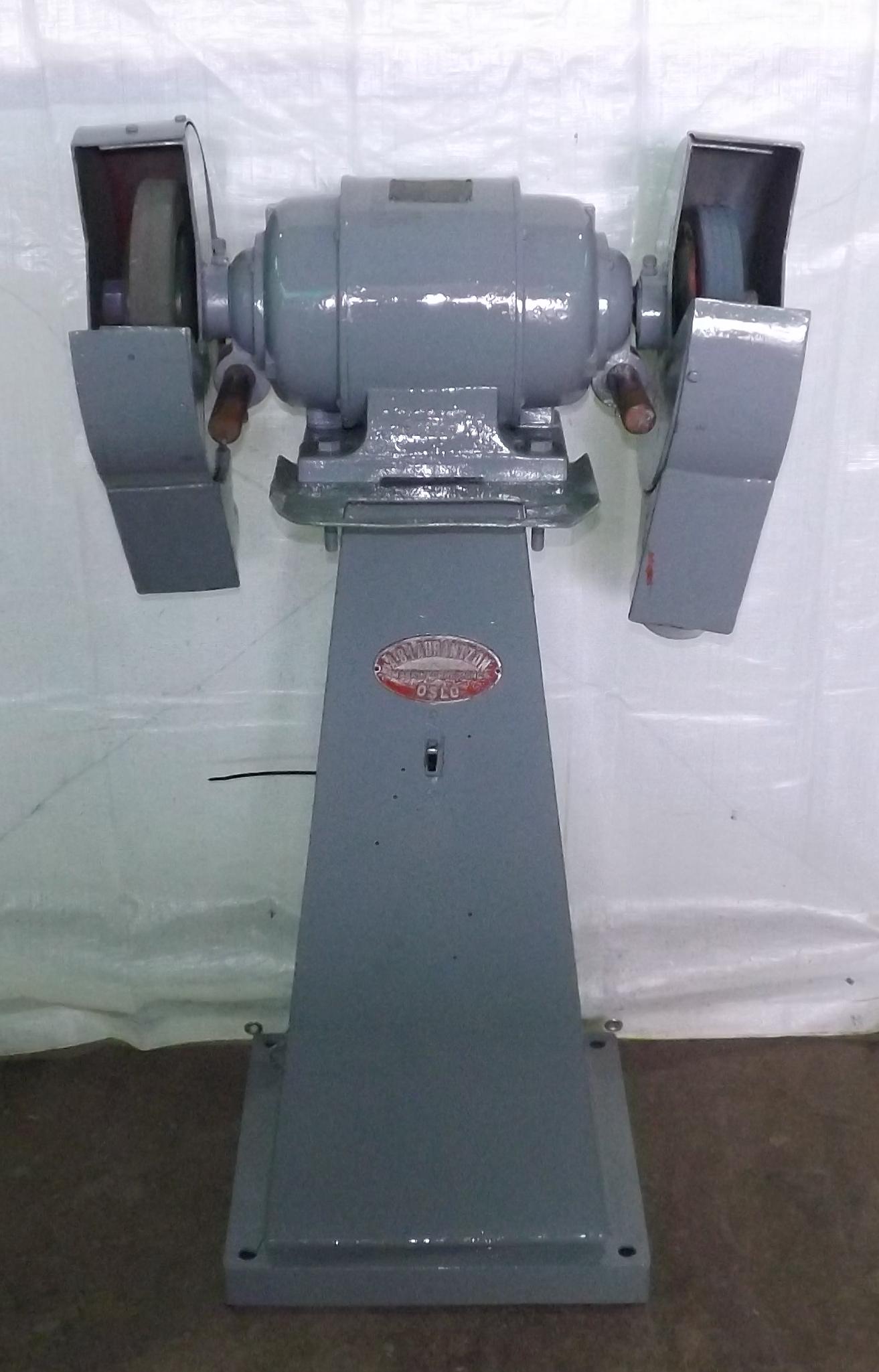 Bench Amp Pedestal Grinder Buffer Industrial Machinery