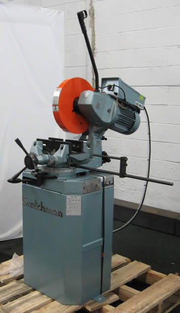 14 Scotchman Ferrous Cold Saw Industrial Machinery