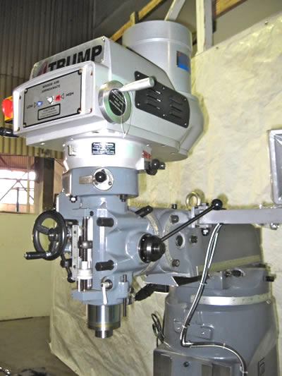 Bridgeport Mill For Sale >> New Trump Milling Machine For Sale Trump Mills Are The Bridgeport