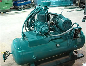 5 HP CHAMPION AIR COMPRESSOR Industrial Machinery Machine