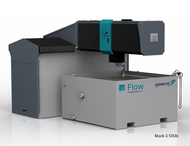 48 x 96 FLOW MACH 3     WATER JET : Industrial Machinery, Machine