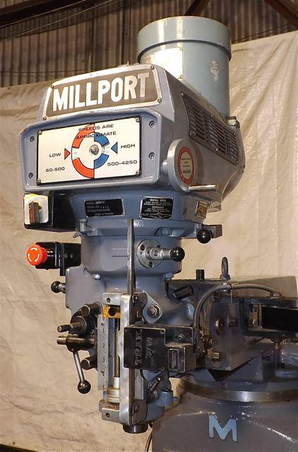 X=36 - Y=16 - Z=16 MILLPORT     CNC MILL : Industrial