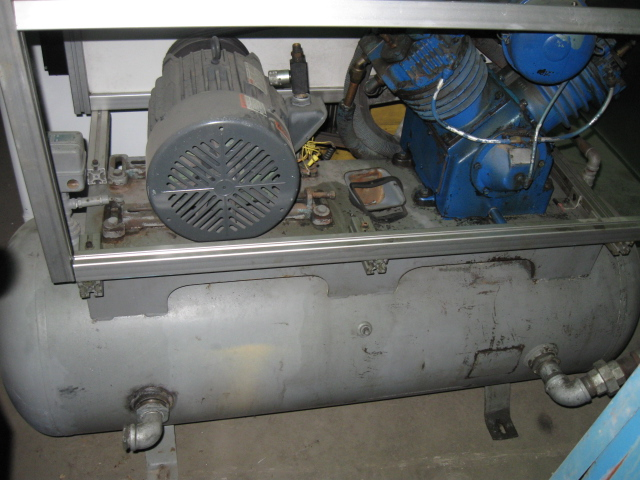 10 Hp Dayton Air Compressor Industrial Machinery