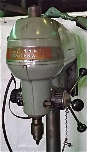 17 Cincinnati Royal Drill Press Industrial Machinery